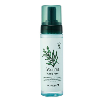 Skin Food Tea Tree Bubble Foam 200ml (Green) - intl