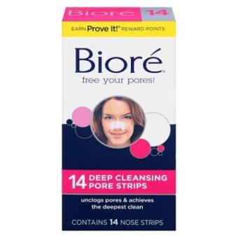 Harga Biore Deep Cleansing Pore Strips , 14 Count