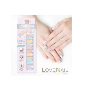 Harga Love Nail Jewel Collection(C:Pastel Crystal)