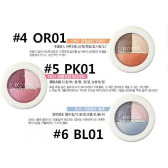 Harga Eco Soul Triple Dome Shadow PK01 - Pink Red