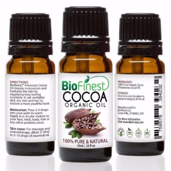 Harga Biofinest Cocoa Organic Oil (100% Pure Organic Carrier Oil) 10ml