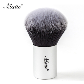 Harga Matto Kabuki Brush Cosmetics Makeup Brush Big Powder Brush for Blush Power Make Up Tools 1pcs (Silver) - intl