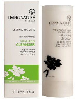 Harga Living Nature Vitalising Cleanser (for Normal to Dry Skin) - 100ml