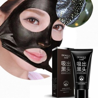 Harga NEW Black Mud Deep Cleansing Pilaten Blackhead Remover Purifying Peel Face Mask Black - intl