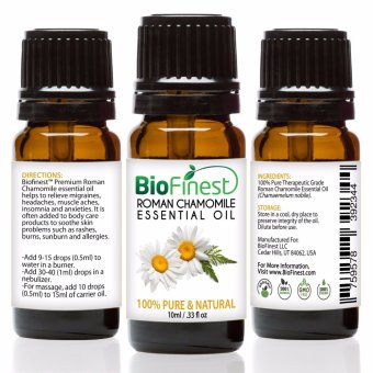 Harga Biofinest Roman Chamomile Essential Oil (100% Pure Therapeutic Grade) 10ml