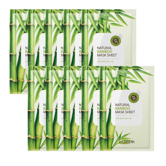 Harga The Saem Natural Bamboo Mask Sheet (10ea) - intl