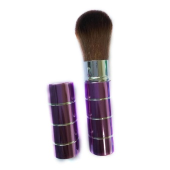 Harga blackhorse Metal telescopic brush blush brush purple - intl