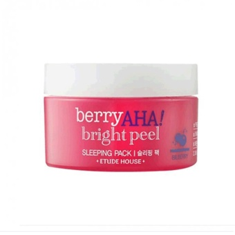 Harga Etude House_Berry AHA Bright Peel Sleeping Pack_100ml - intl