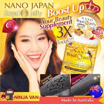 Harga NANO ROYAL JELLY • 24 amino acids to strengthen hair/ scalp/ nails • 70-caps (Made in Australia)