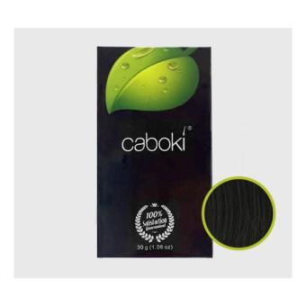 Harga Caboki - Best Hair Building Fiber Ever , Reclaim your confidence in seconds (Black-30 grams)