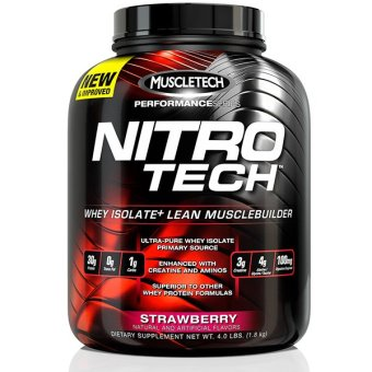 Harga MuscleTech Performance Series NitroTech (3.97lbs) - Strawberry