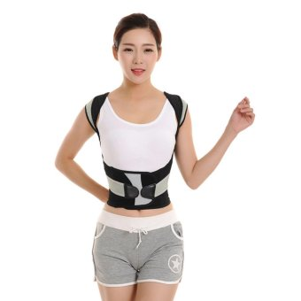 Harga Babaka Posture Correction Vest Braces & Back Support Belt XXL - intl