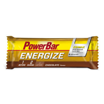 Harga PowerBar Energize Bar Chocolate 12 Pack With Free Gift