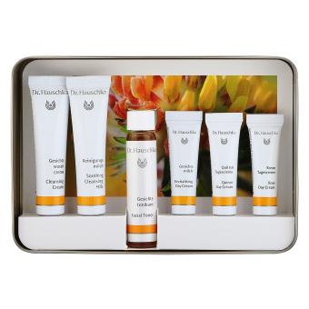 Harga Dr. Hauschka Face Care Kit (For Normal, Dry and Sensitive Skin) 1set, 6pcs