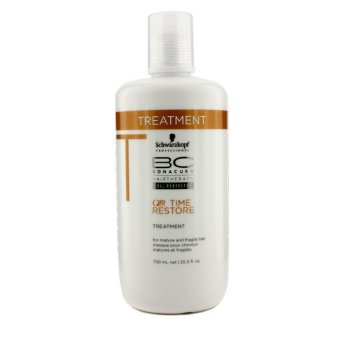 Harga Schwarzkopf BC Time Restore Q10 Plus Treatment - For Mature and Fragile Hair (New Packaging) 750ml/25.5oz (EXPORT)