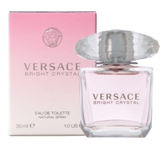 Harga Versace Bright Crystal EDT Spray 30ml Ladies