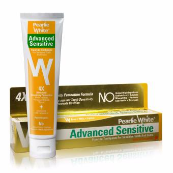 Harga Pearlie White Advanced Sensitive Toothpaste 130gm