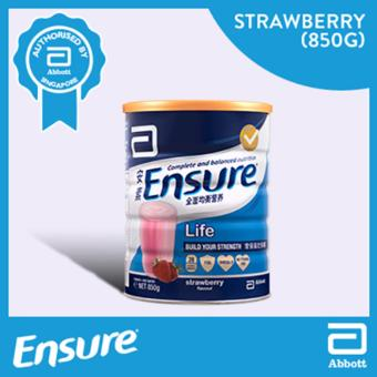 Harga Ensure Life - Strawberry 850g