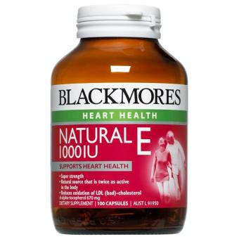 Harga Blackmores Natural Vitamin E 1000IU 100 Capsules