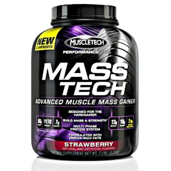 Harga MuscleTech MassTech 7lbs Strawberry