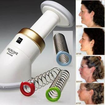 Harga Portable Neckline Slimmer Chin Massager Jaw Reduce Double Thin Fat Burning - intl