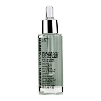 Harga Peter Thomas Roth Oilless Oil 100% Purified Squalane Moisturizing Lightweight Skin Softener 30ml/1oz (EXPORT)