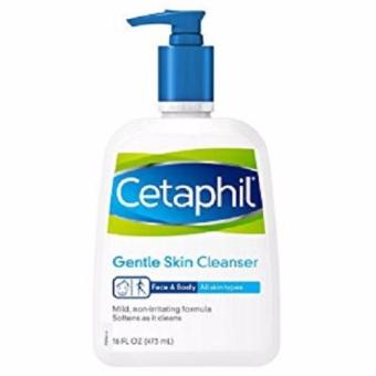 Harga Cetaphil Gentle Skin Cleanser, For all skin types, 16-Ounce (473 ml)