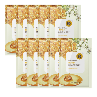 Harga The Saem Natural Honey Mask Sheet (10ea) - intl