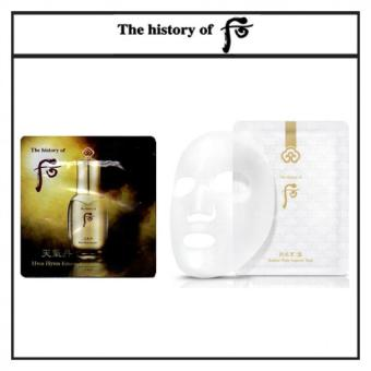 Harga The History of Whoo Cheongidan HwaHyun Essence 1ml x 30pcs(Free sample) + The History of Whoo Gongjinhyang Seol Radiant White Ampoule Mask 25g