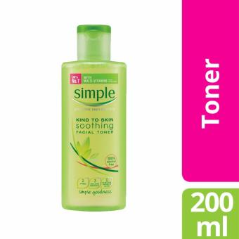 Harga Simple Soothing Toner 200ml (New)