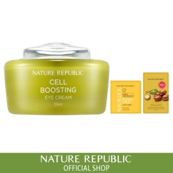 Harga Nature Republic Cell Boosting Eye Cream