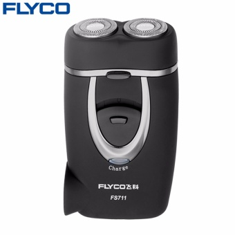 Flyco professional Sale Rushed Shaving Men Electric Razor Genuine Matte Surface Rechargeable Electric Rotary Men Shaver FS711 - intl