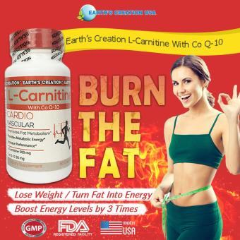 Earth's Creation L-Carnitine With Co Q-10