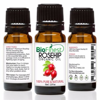 Harga Biofinest Rosehip Organic Oil (100% Pure Organic Carrier Oil) 10ml