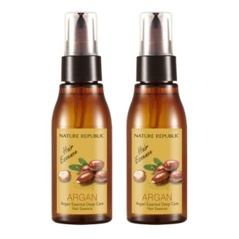 Harga Nature Republic Argan Essential Deep Care Hair Essence 60ml *2 - intl