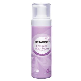 Harga Betadine Feminine Wash Foam 100ml