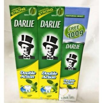 Harga Darlie Double Action 2 x 250 g + 100 g