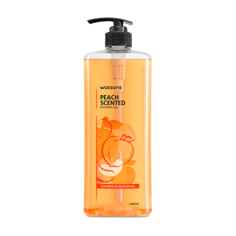 Harga Watsons Peach Scented Shower Gel 1L