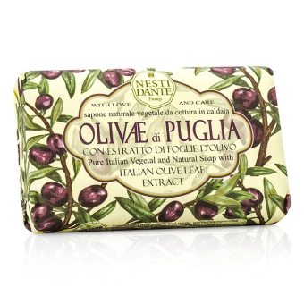 Harga Nesti Dante Natural Soap With Italian Olive Leaf Extract - Olivae Di Puglia 150g