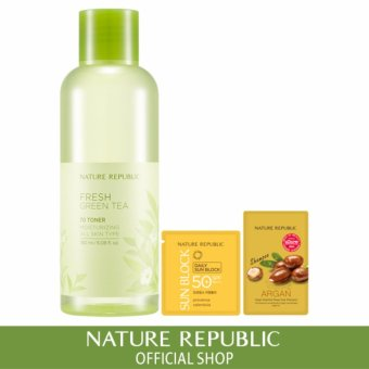 Harga Nature Republic Fresh Green Tea 70 Toner