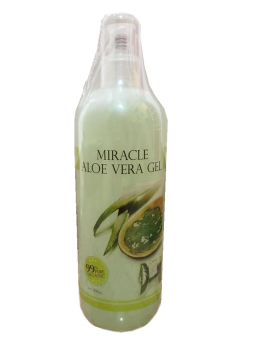 Harga 99% Pure Organic Miracle Aloe Vera GEL 500ML