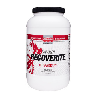 Harga Hammer Recoverite Strawberry 32 Servings With Free Gift