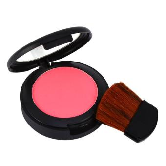 Harga Professional Face Blush Three-in-one Cheek Makeup Set Blush Powder With Brush(1#) - intl