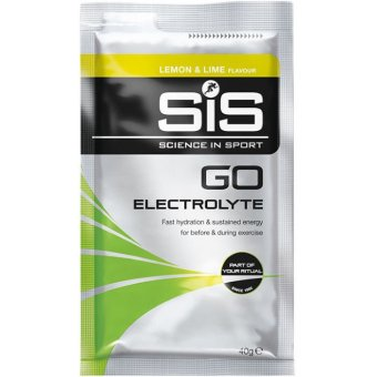 Harga Science in Sport (SiS) Go Electrolyte Sports Fuel Lemon Lime Sachets Box Of 12 x 40g