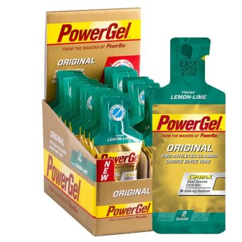 Harga PowerBar PowerGel Lemon Lime 24 Pack With Free Gift