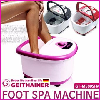 Harga GEITHAINER Germany GT-M500SFM Foot Spa Care Massager (Pink) - intl