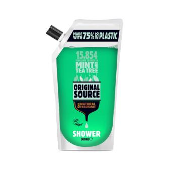 Harga Original Source Mint & Tea Tree DOY Shower Gel 500ml x 3
