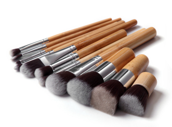 Harga Professional Make Up Cosmetic Makeup Brushes Powder Brush Set 11pcs