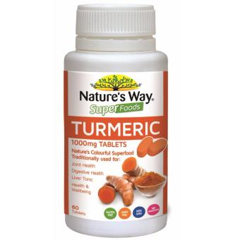 Harga Nature's Way Superfoods Turmeric 60 Tablets