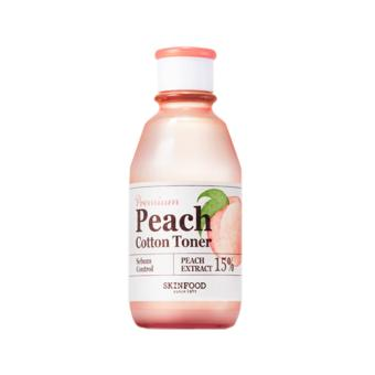 Harga [SKIN FOOD] Premium Peach Cotton Toner (175ml) - intl